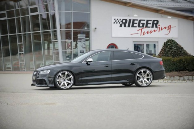 audi a5 sportback by rieger tuning 7 audi tuning mag. Black Bedroom Furniture Sets. Home Design Ideas